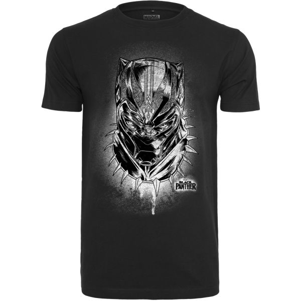 Merchcode Shirt - Black Panther Spray schwarz