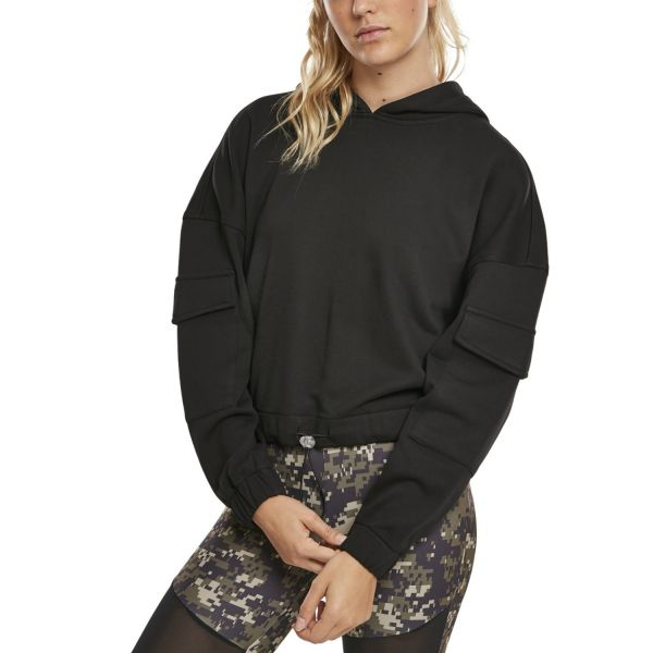 Urban Classics Ladies - Short Worker Hoody